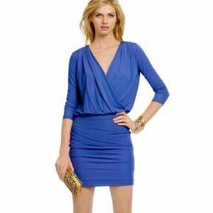 Haute Hippie Royal blue dress S